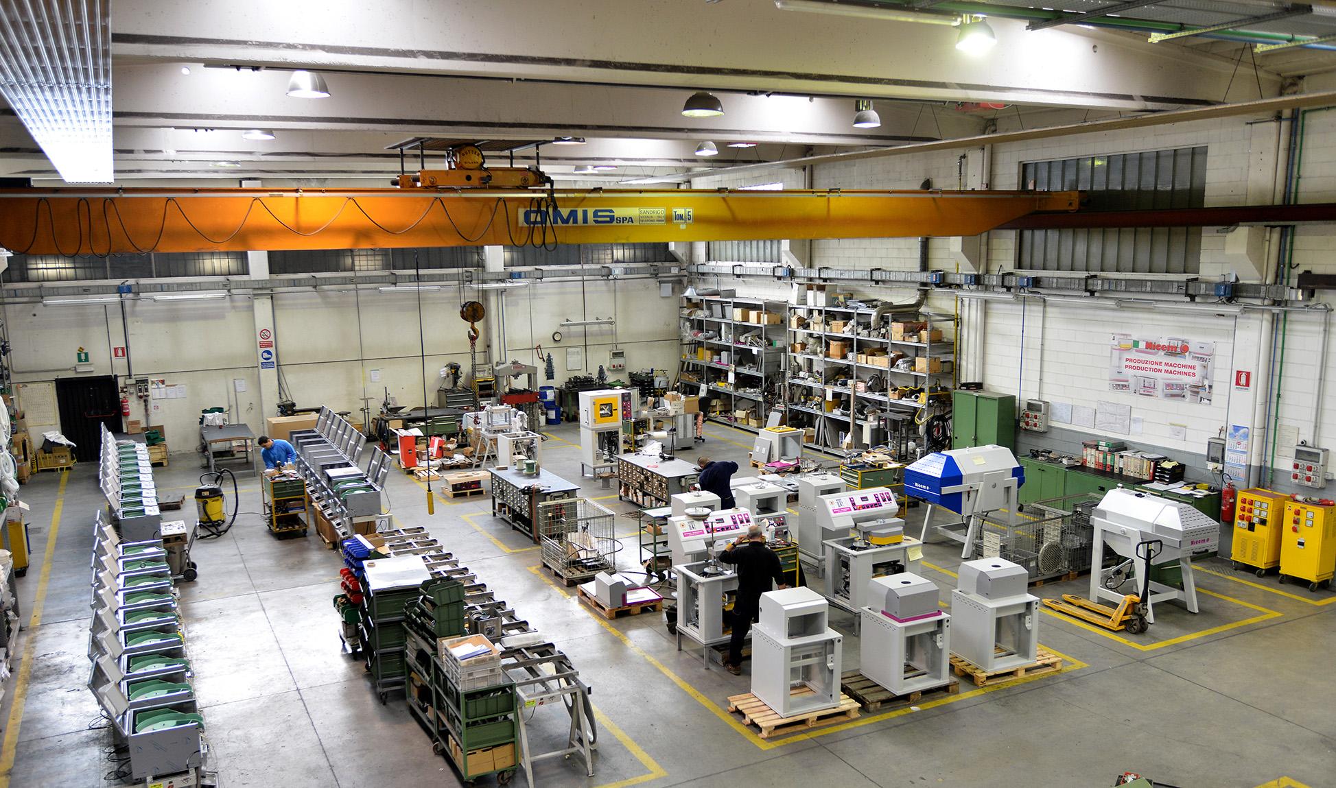NICEM، خدمات نوآوری ساخت ایتالیا برای شرکتها از سال ۱۹۷۰