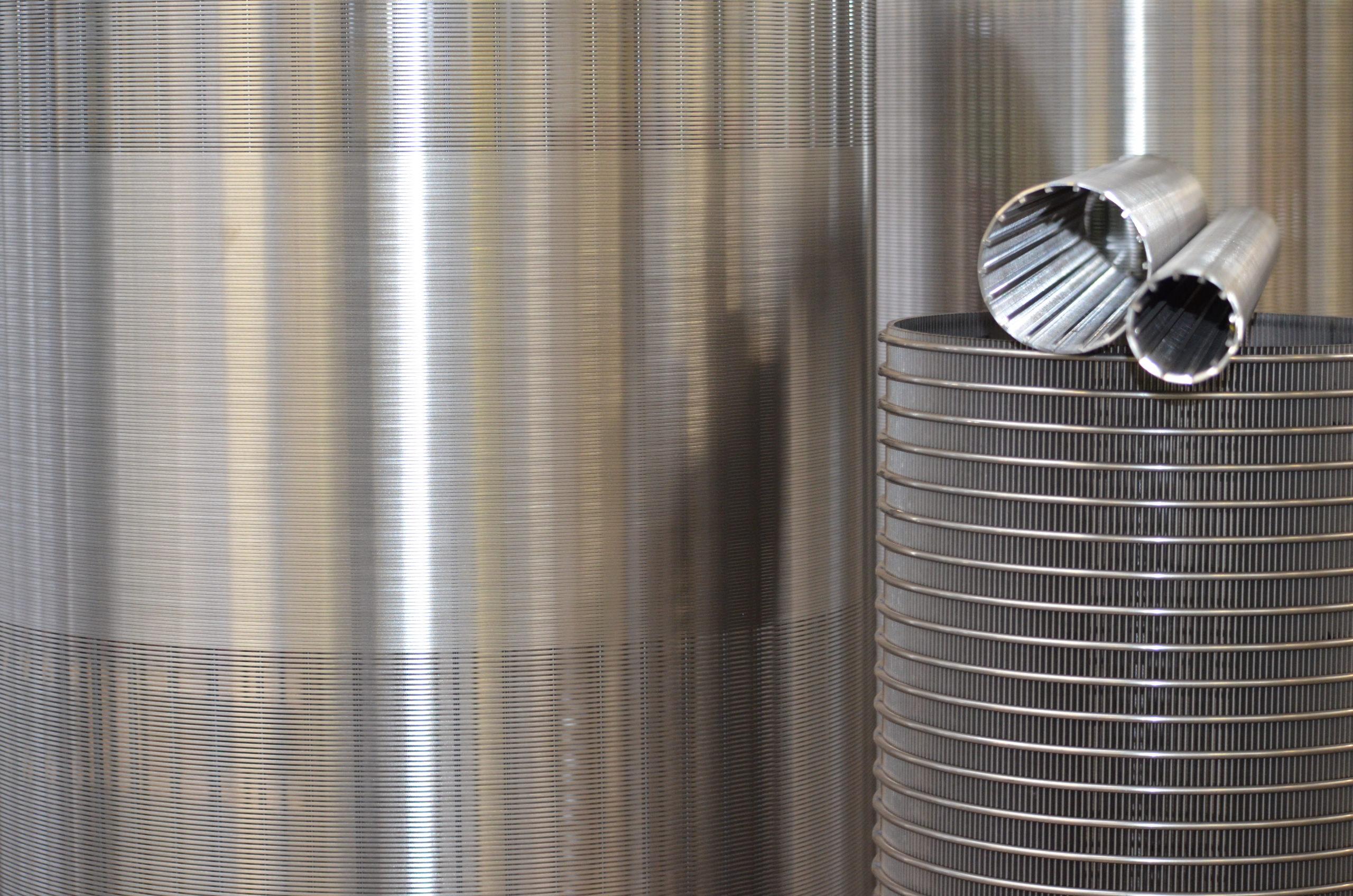 De Tapetes Transportadores para elementos filtrantes Wedge Wire Screens