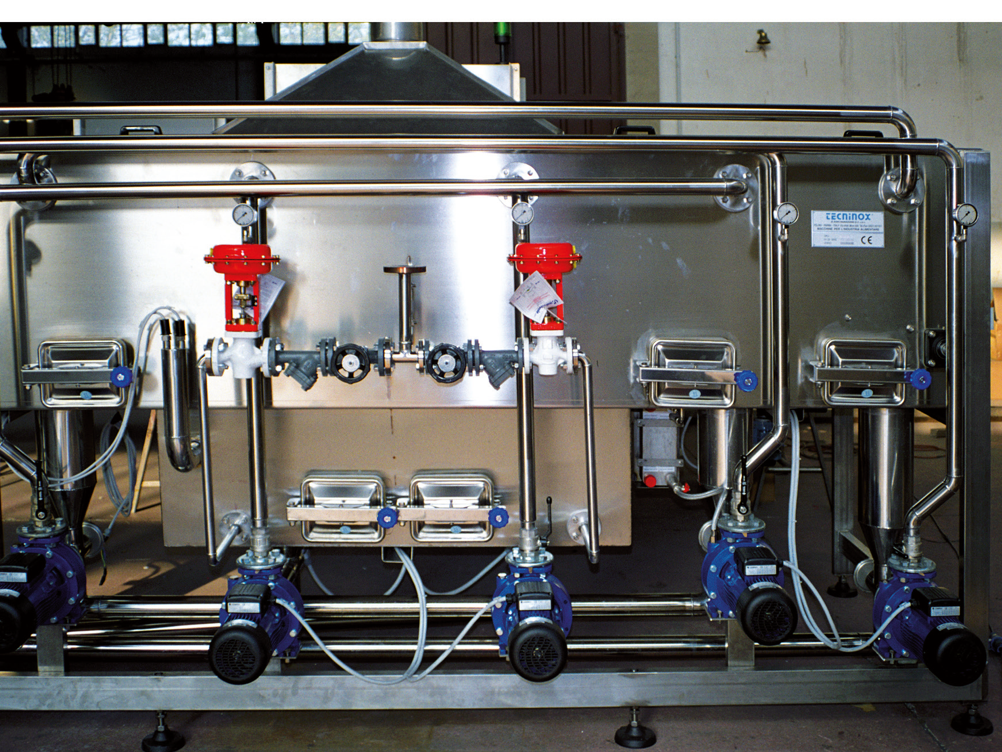 Tecninox, máquinas para indústrias alimentares e de bebidas