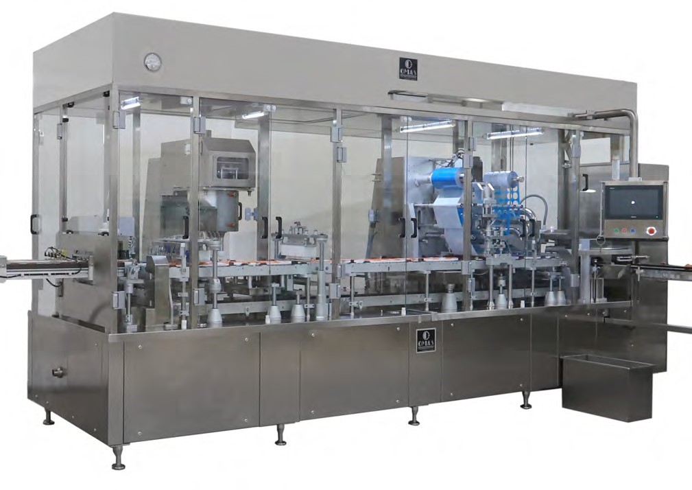FLEXICAP  Dynamic Excellence FLEXICAP is an innovative assembling machine designed for coffee, soluble products, and liquids.