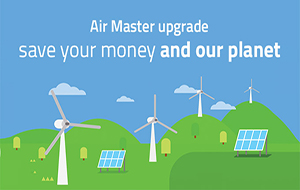 Air Master upgrade: air recovery system