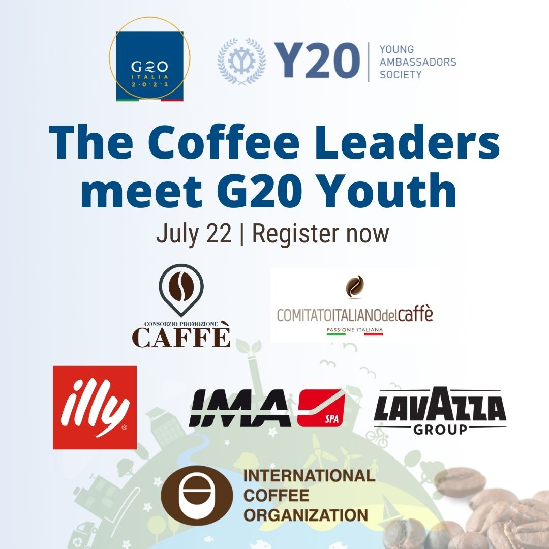 The leaders of the coffee sector meet the young people of the G20 to talk about sustainability, innovation and inclusion