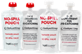 NO-SPILL POUCH SYSTEM